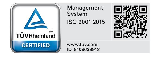 ISO 9001 2015 QMS - PT. Putra Tidar Perkasa