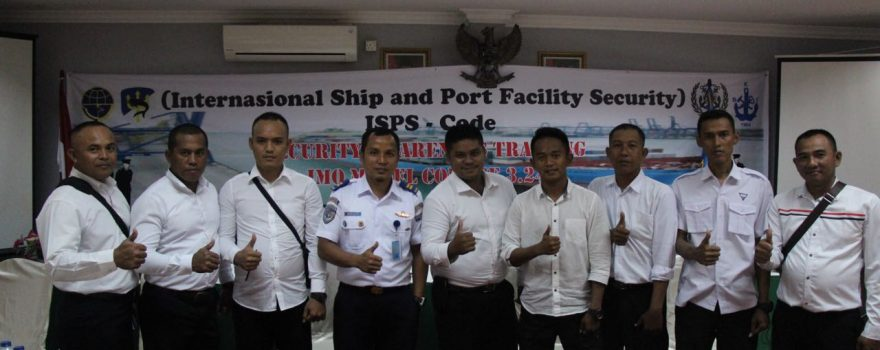 PTP Ikutkan personel Satpam Training Port Security Guard
