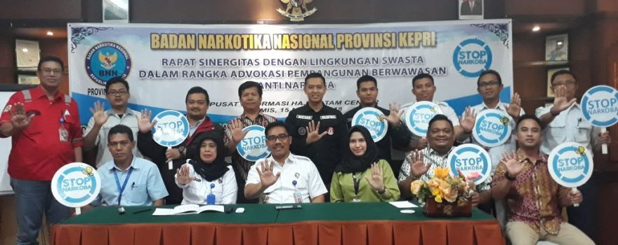 Peduli dengan Bahaya Narkoba, PTP ikut serta dalam Program BNN