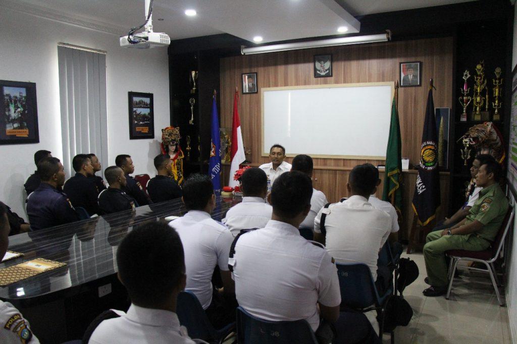 Pelatihan Satpam Gada Pratama angkatan ke 26 PT. Putra Tidar Perkasa di batam