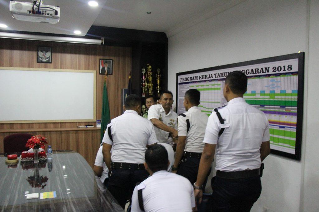 Pelatihan Satpam Gada Pratama angkatan ke 26 di Batam- PT. Putra Tidar Perkasa