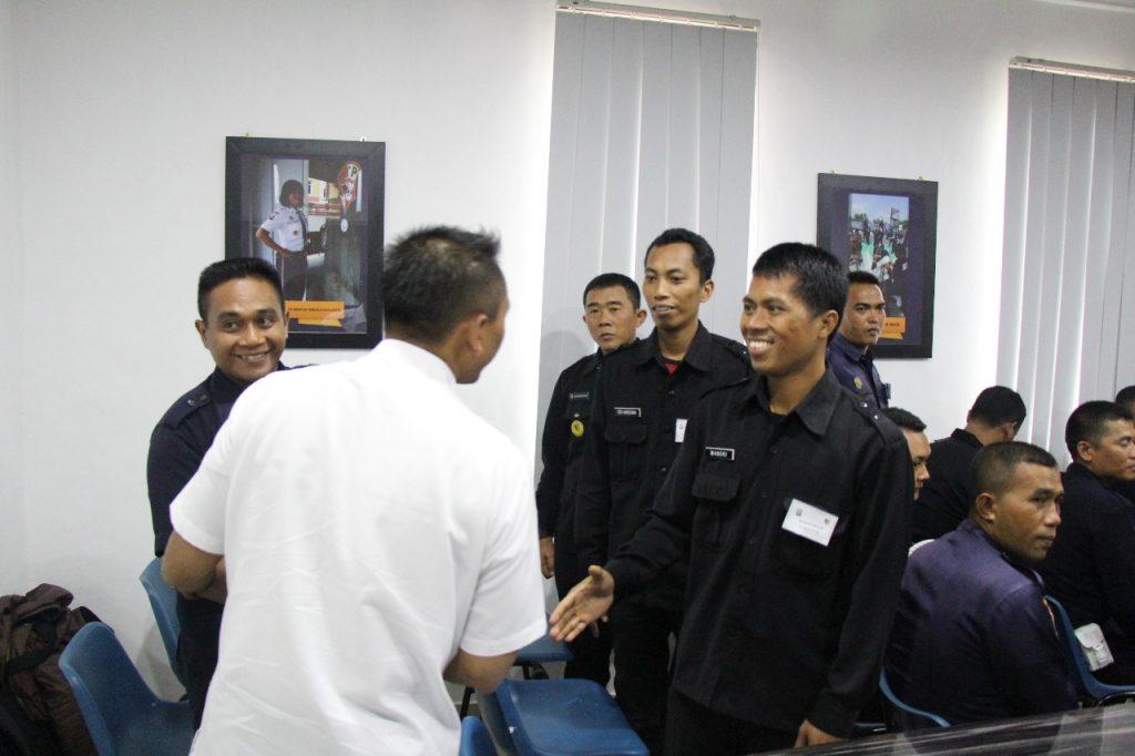 Pelatihan Satpam Gada Pratama angkatan ke 26 di PTP Training Center - PT. Putra Tidar Perkasa