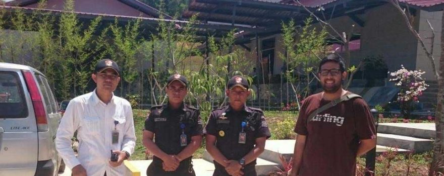Pengamanan PTP di Nongsa Digital Park