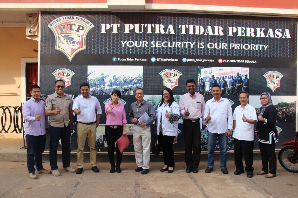 Foto bearsama klien PTP, dalam rangka Audit PT. Epcos Indonesia 1