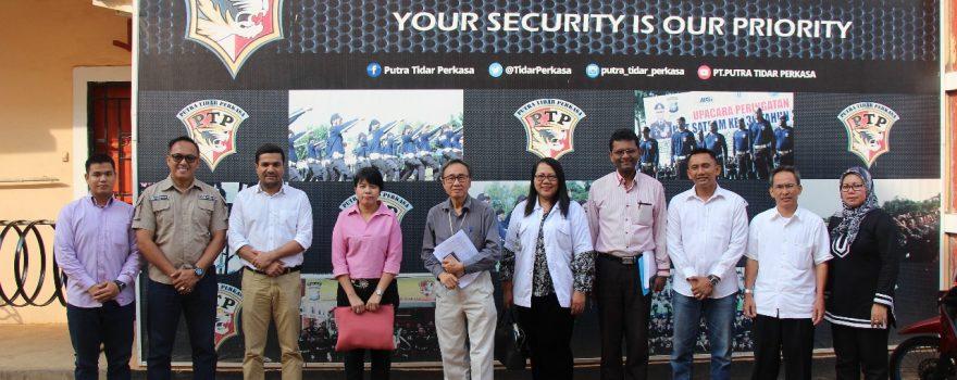 Foto bersama klien PTP, dalam rangka Audit PT. Epcos Indonesia
