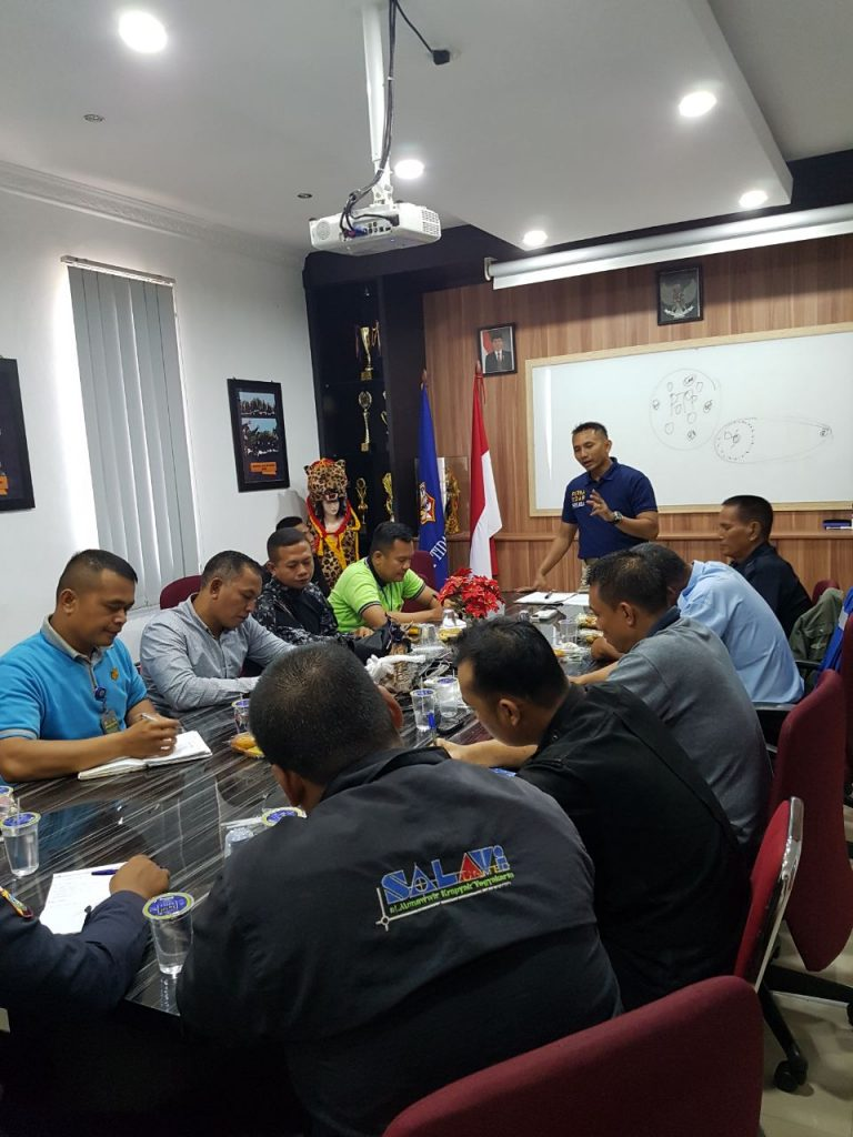 Meeting Chief Satpam PTP