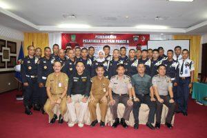 Disnaker Kota Batam Percayakan Pelatihan Satpam bagi Pencari Kerja ke PTP