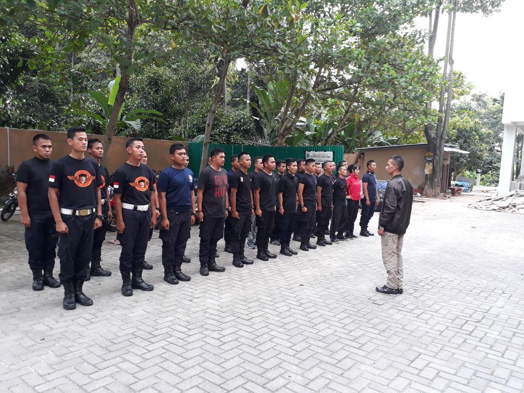 Personel Satpam PTP di Bangka Belitung