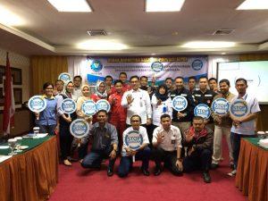 Siap Jadi Relawan Anti Narkoba, PTP Ikuti Asistensi Penguatan dari BNNP Kepri