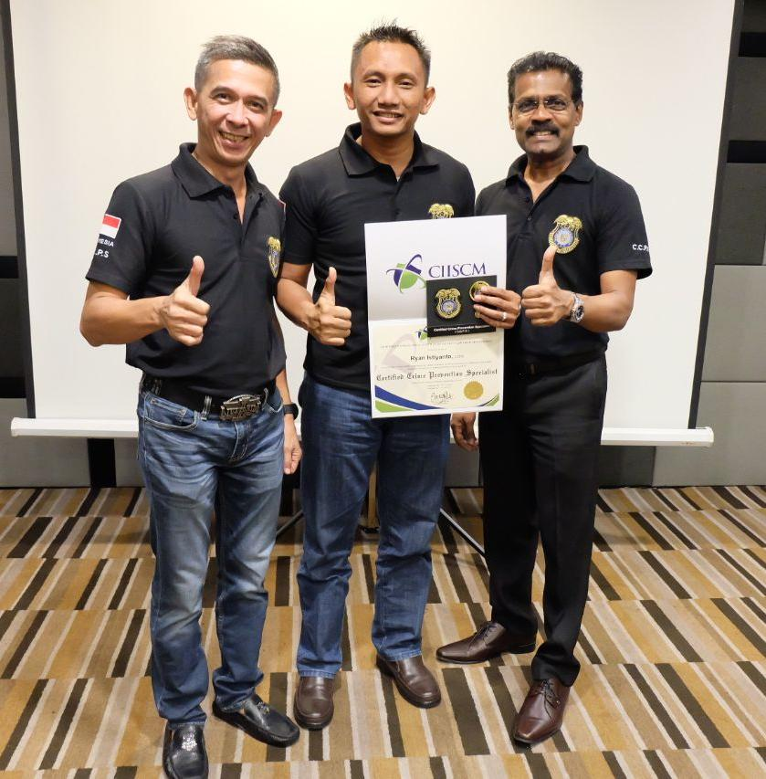 Training Crime Prevention Specialist bertaraf internasional