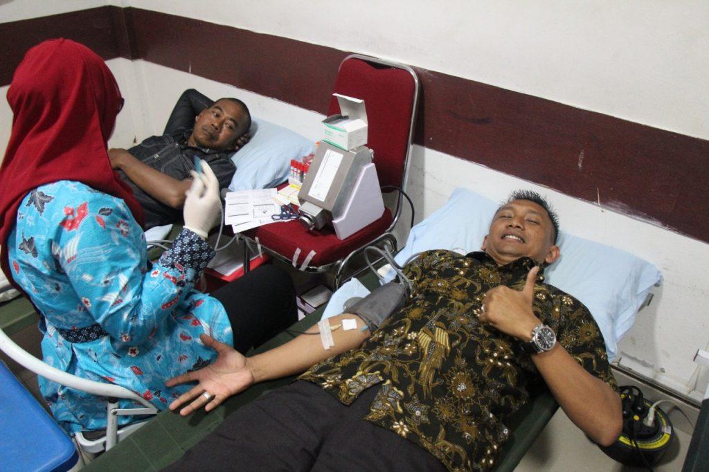 Dir Ops PTP ikut Donor Darah