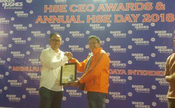 PT. Putra Tidar Perkasa menerima HSE CEO AWARDS and ANNUAL HSE DAY 2018 dari PT. Vetco Gray Indonesia