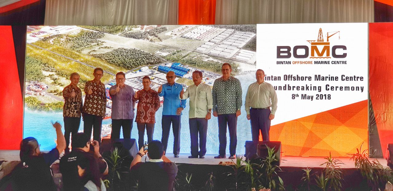 PTP PROUD TO SUPPORT  BINTAN OFFSHORE MARINE CENTER
