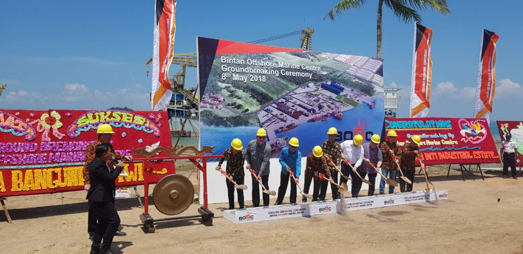 PTP PROUD TO SUPPORT OFFSHORE MARINE CENTER --
