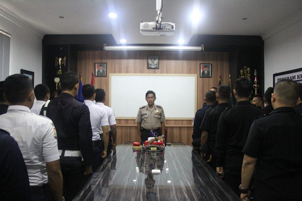 Pelatihan Satpam Security Gada Pratama angkatan 28 - upacara pembukaan