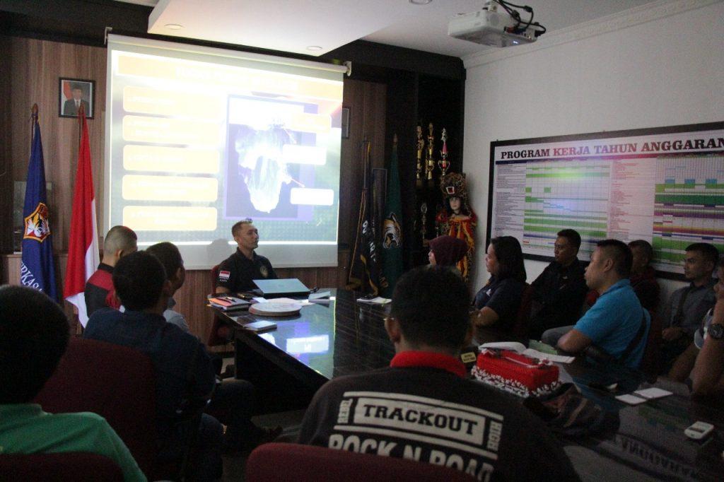 Pembekalan Intelijen untuk para Chief Security PT. Putra Tidar Perkasa - Jasa Pengamanan di kota Batam