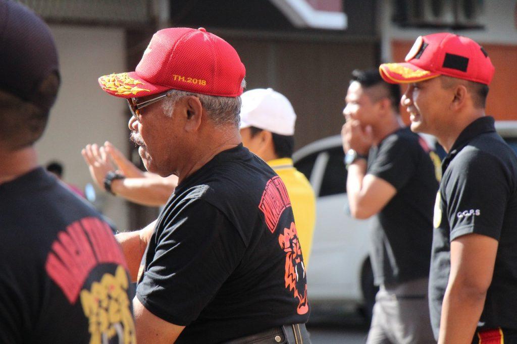 Senam Zumba PT. Putra Tidar Perkasa bersama Komisaris Utama Mayjen (Purn) H. Sudiyono PS