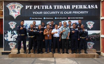 Training Port Security Guard di PT. Putra Tidar Perkasa