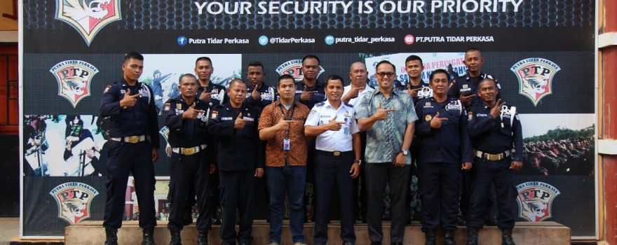 Training Port Security Guard di PT. Putra Tidar Perkasa