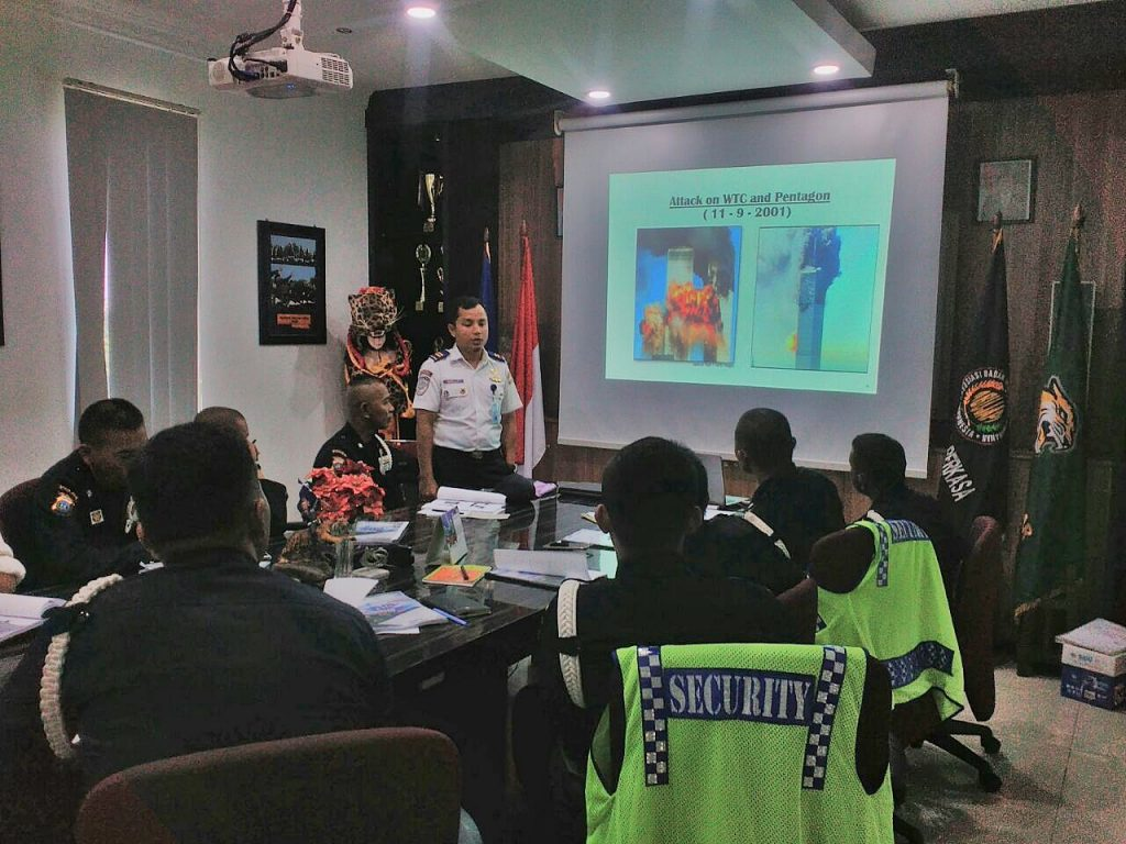 Training Port Security Guard ini di laksanakan oleh PTP Training Center