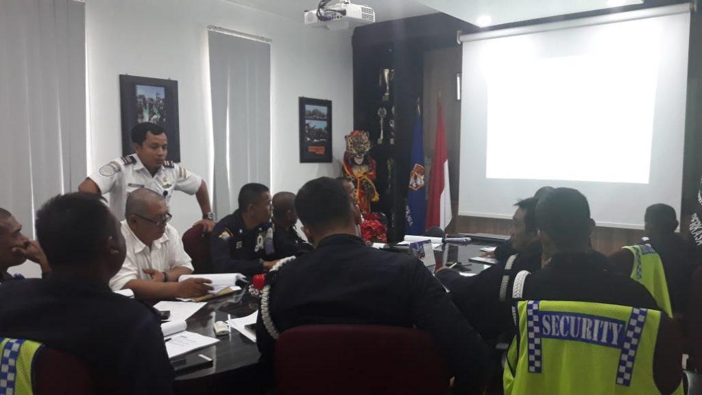 Training Port Security Guard ini untuk mereka Satpam yang bekerja di Pelabuhan