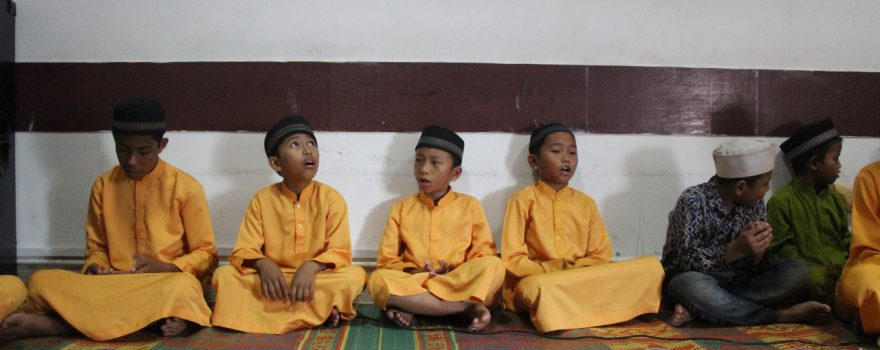 mengundang anak panti asuhan untuk berdoa bersama dalam rangka silahturahmi menyambut bulan suci ramadhan 1439H - Satpam PTP