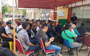Dirops PTP memberikan arahan terkait Operasi Ketupat Tidar 2018
