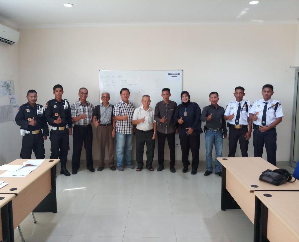 Foto bersama manajemen PT. Nusantara Permai Sejahtera
