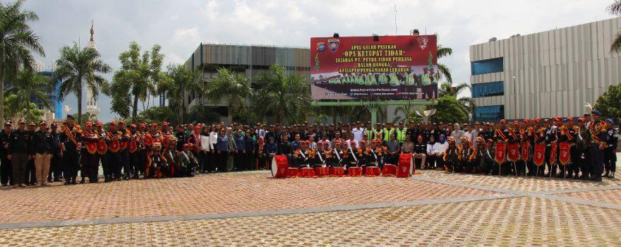 Foto bersama saat OPS Ketupat Tidar 2018 - Jasa Keamanan di Batam