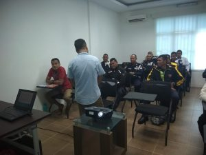 PULUHAN SATPAM PT. PTP DISERTIFIKASI PORT SECURITY GUARD