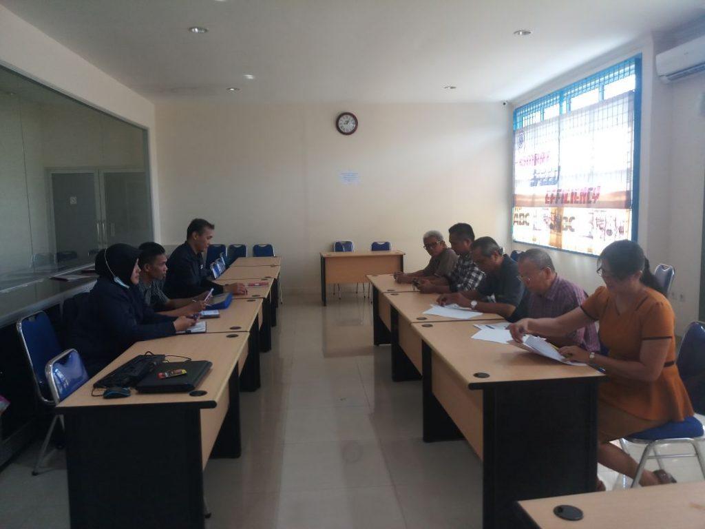 Meeting dengan PT. Nusantara Permai Sejahtera