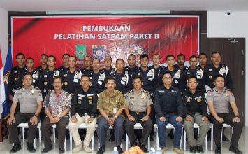PTP Training Center latih peserta Calon Satpam dari Disnaker Kota Batam