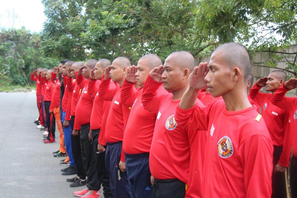 Pembukaan DIKTUK PTP angkatan ke XXXVII - Where Security Guard Was Born
