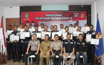 Foto bersama peserta gada Pratama Paket B di PTP Training Center