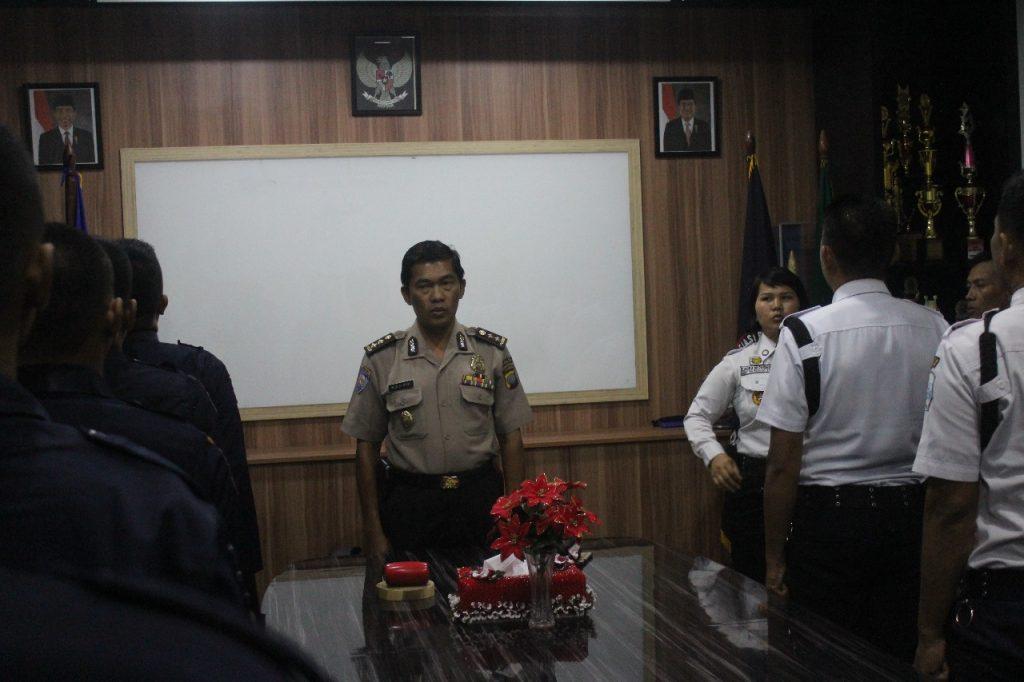 Kasubdit Satpam Buka pelatihan Satpam di PTP Training Center