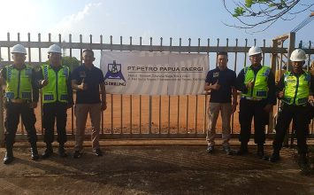 PT. Putra Tidar Perkasa dipercayai untuk mengamankan unit PT. PETRO PAPUA ENERGI