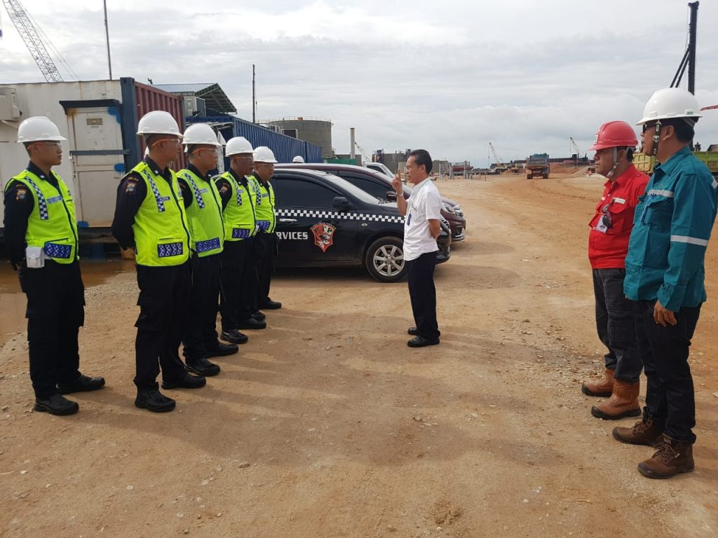 Pengarahan dari HR dan GA PT. Putra Tidar Perkasa dalam penempatan personel di Klien Baru - PT. Timas Suplindo