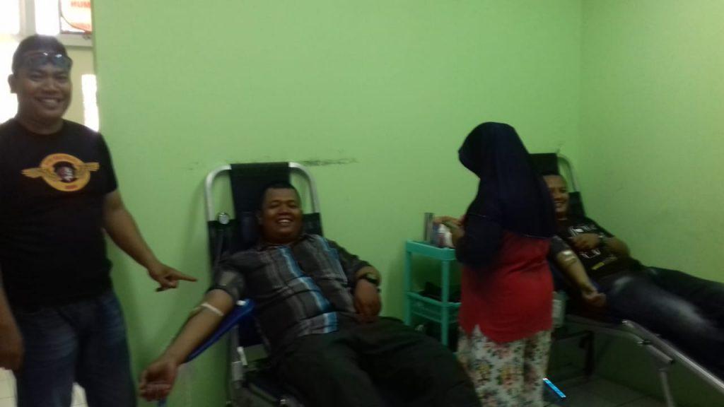 Personel PTP Donor Darah unit Karimun