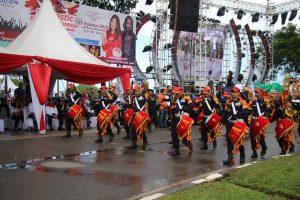 Drumband Satpam Meriahkan Acara Funtastic Ragam Indonesia dan HUT ATB Batam ke 23