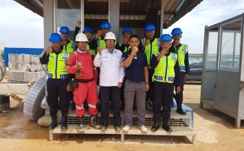 Foto bersama klien baru - PT. PTP