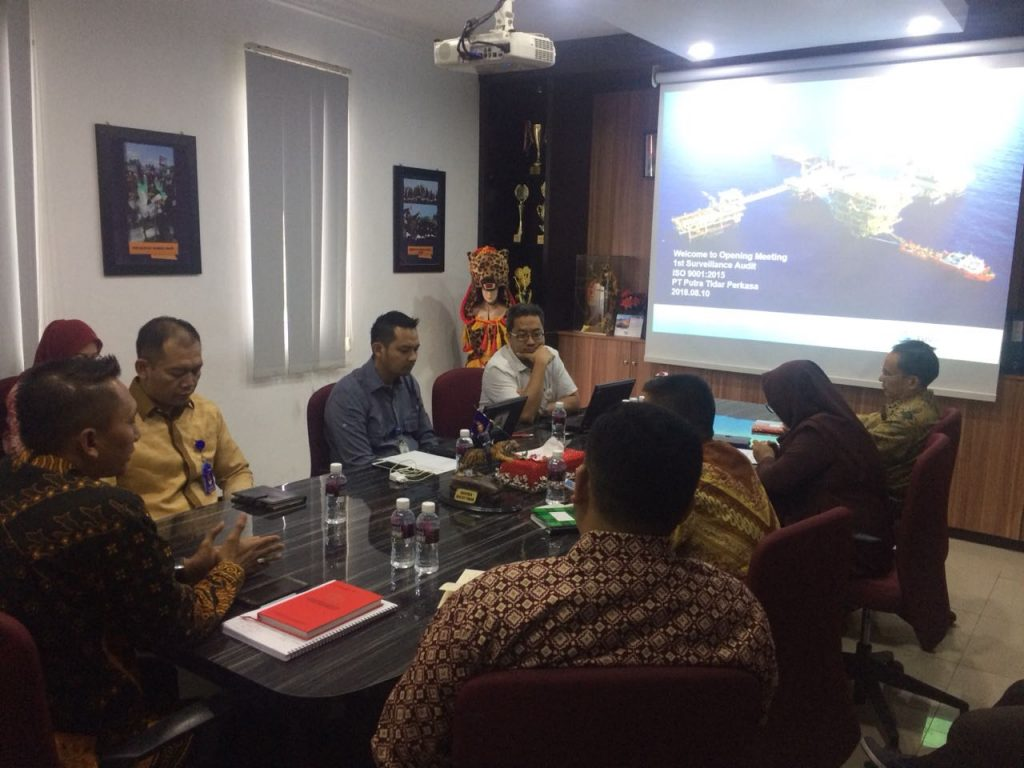 Opening Surveilaance Audit ISO 9001 2015