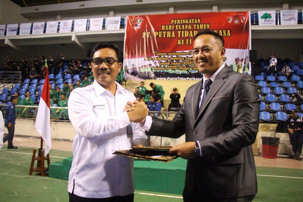 PT Putra Tidar Perkasa bekerjasama dengan BNNP Kepri dalam Program P4GN
