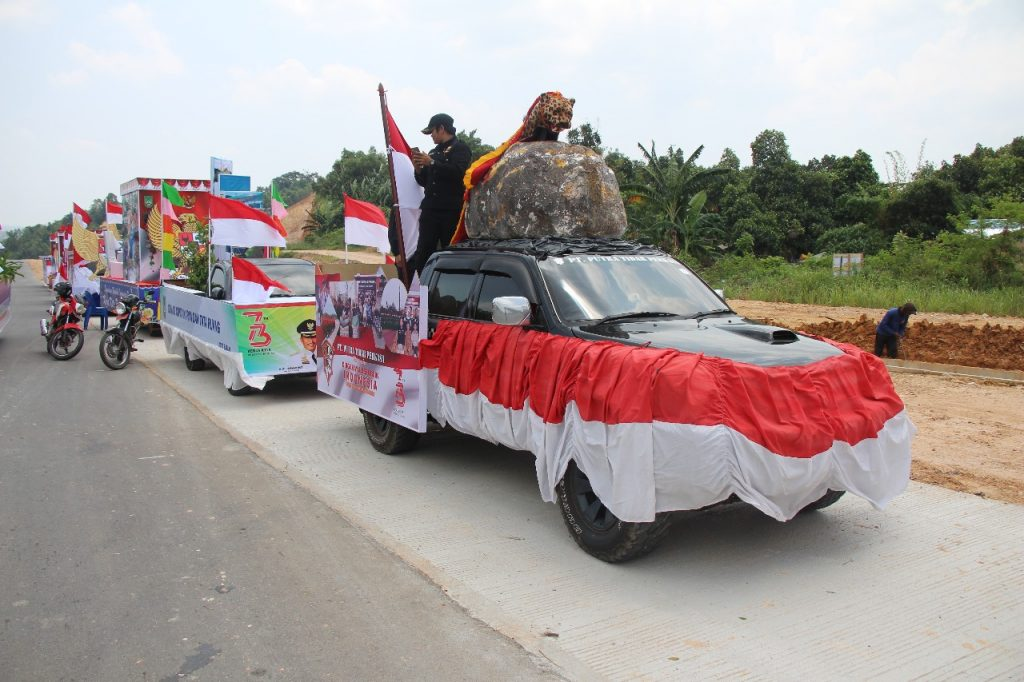 PT. Putra Tidar Perkasa ikuti Pawai Pembangunan 2018