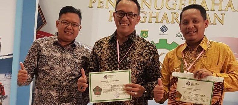PTP mendapat penghargaan dari Kemnaker RI