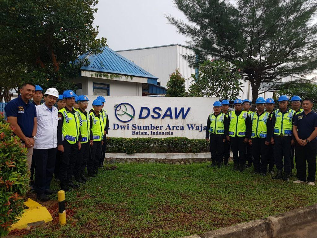 Penempatan personel di Klien DSAW