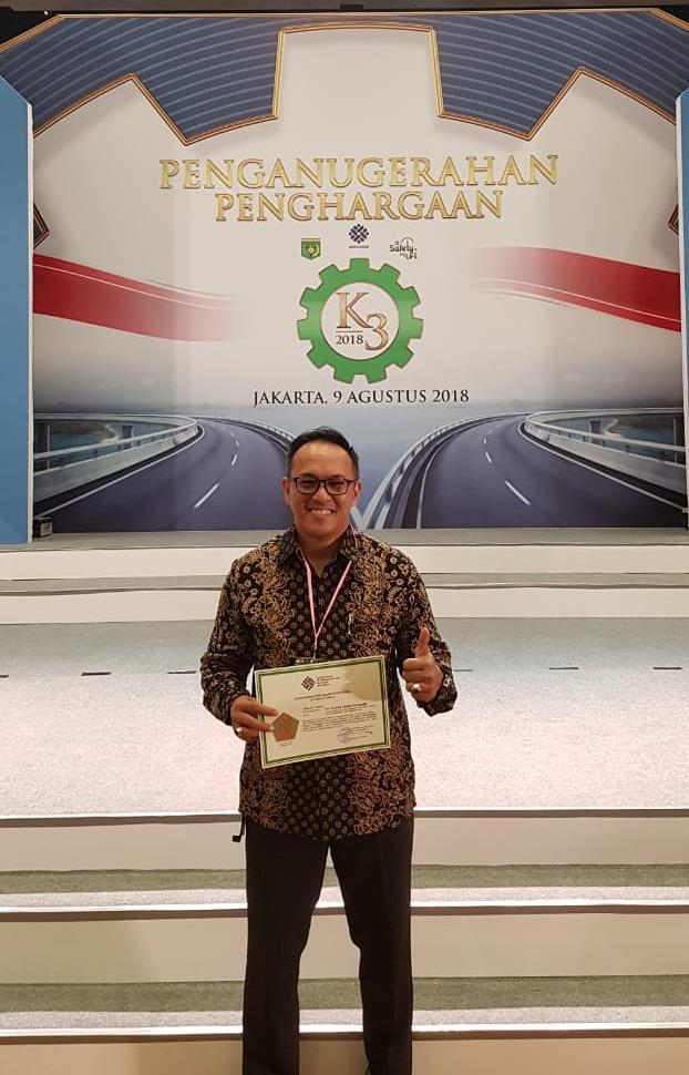 Penganugerahan Penghargaan dari Kemnaker RI