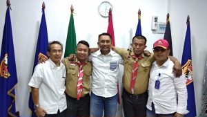 Pemuda Pramuka Sulsel Menyambangi Kantor PTP