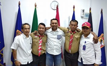 PTP memberikan dukungan kepada Pramuka Tuna Rungu