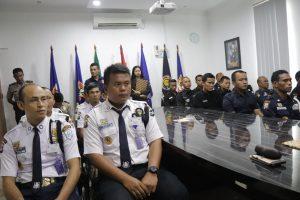 Read more about the article Buka Pelatihan Satpam Gada Pratama di PTP Training Center angkatan XXIX