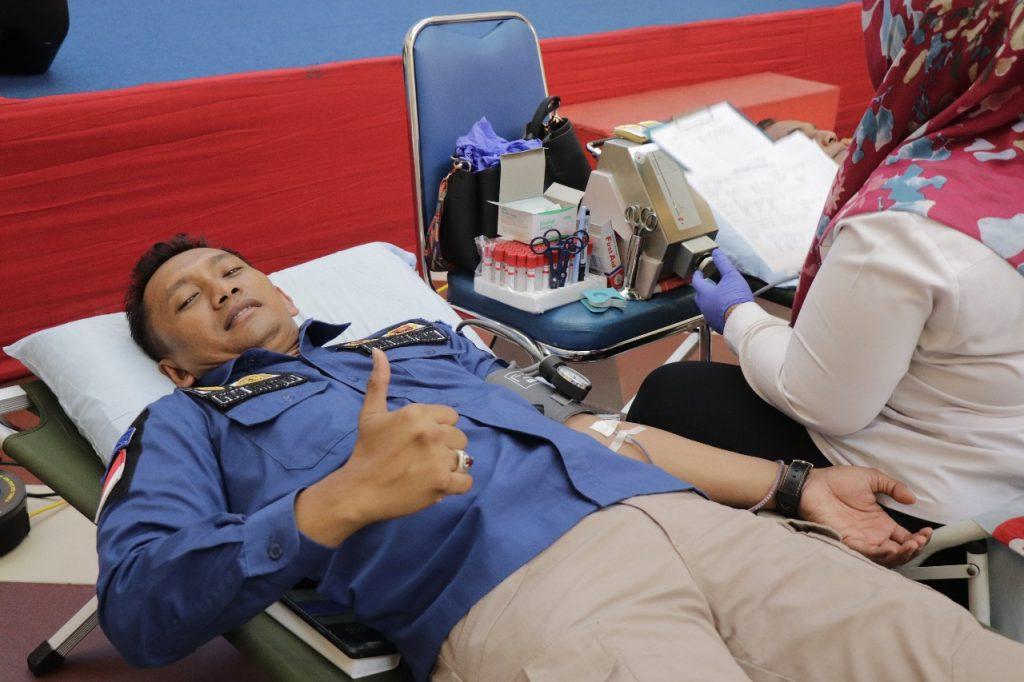 Kegiatan Donor Darah PTP Batam